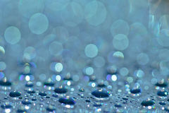 Drops 2. Abstract background of water drops on a CD - DVD Royalty Free Stock Images