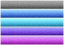 Drops banner set (01) royalty free stock photo