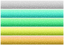 Drops banner set (02) Stock Images
