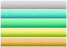 Drops banner set (02) stock images