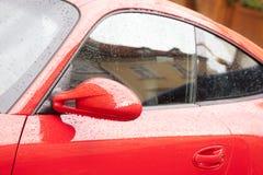 Drops on car Stock Photos