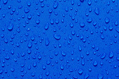 Drops of clear liquid Stock Photography