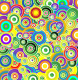 Drops of Colors Royalty Free Stock Image