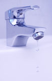 Drops from faucet Stock Image
