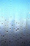 Drops on glass Royalty Free Stock Photos