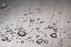 Free Drops On Metal Stock Photo - 10800570