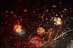 Drops rain Stock Image