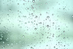 Drops of rain Royalty Free Stock Photos