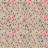 Drops seamless background Stock Photography
