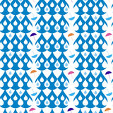 Drops seamless pattern Stock Photography