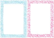 Drops_square_framework Fotos de Stock