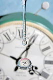 Drops of time. Stock Photos