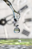 Drops of time. Royalty Free Stock Images