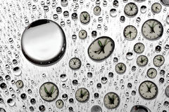 Drops in time Royalty Free Stock Images