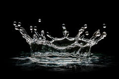 Drops transparent water Royalty Free Stock Images