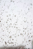 Drops of water on the window Royalty Free Stock Photos