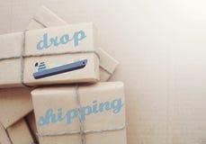 Dropshipping Hur dess arbeten? Royaltyfri Bild