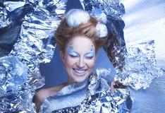 Is-drottning. Royaltyfri Bild