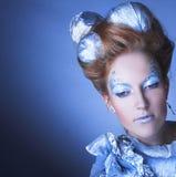 Is-drottning. Fotografering för Bildbyråer