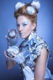 Is-drottning. Royaltyfri Foto