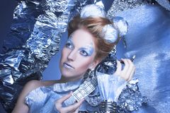 Is-drottning. Royaltyfria Bilder