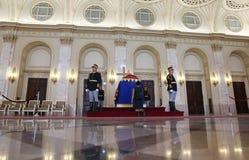 Drottning Anne av Rumänien på Royal Palace i Bucharest Fotografering för Bildbyråer