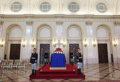 Drottning Anne av Rumänien på Royal Palace i Bucharest Royaltyfri Bild