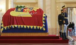 Drottning Anne av Rumänien på Royal Palace i Bucharest Arkivfoton