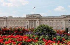 Drottning av den England Buckingham Palace London Royaltyfri Fotografi