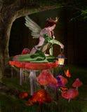 Drottning av feer Arkivbild