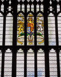 Drottning Elizabeth II Diamond Jubilee Window arkivbilder