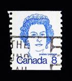Drottning Elizabeth II, kanadensiska premiärministrar och drottning Elizabeth Fotografering för Bildbyråer