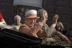 drottning för henrik margretheprince Royaltyfri Foto
