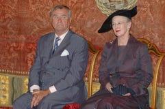 drottning för henrik margretheprince Royaltyfria Bilder