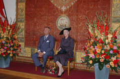 drottning för henrik margretheprince Arkivbilder