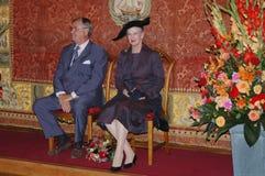 drottning för henrik margretheprince Arkivbild