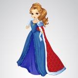 Drottning i det röda Roal ansvaret stock illustrationer