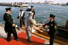 DROTTNING MARGRETHE II OCH PRINS HENRIK AV DANMARK Royaltyfria Bilder