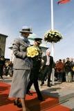 DROTTNING MARGRETHE II OCH PRINS HENRIK AV DANMARK Royaltyfria Foton