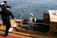 DROTTNING MARGRETHE II OCH PRINS HENRIK AV DANMARK Royaltyfri Bild