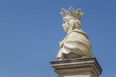 Drottning Marie av den Rumänien statyn royaltyfri bild