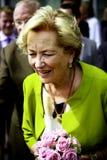 Drottning Paola av Belgien Arkivfoto