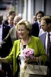Drottning Paola av Belgien Royaltyfria Bilder