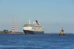 Drottning Victoria för HMS för kryssningskepp Royaltyfri Foto