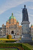 drottning victoria för Kanada husparlament Royaltyfri Bild
