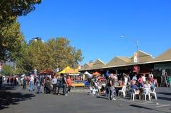 Drottning Victoria Market Melbourne Australia Fotografering för Bildbyråer