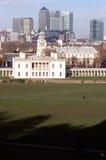 Drottningarna hus, Greenwich Arkivbild