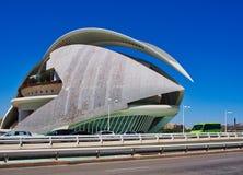 Drottningen Sofia Palace av konsterna, stad av konster och vetenskaper, Valencia royaltyfri foto