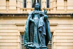 Drottningen Victoria Statue, Queens parkerar, Brisbane Arkivfoton