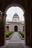 Drottningens högskola Oxford Arkivbilder